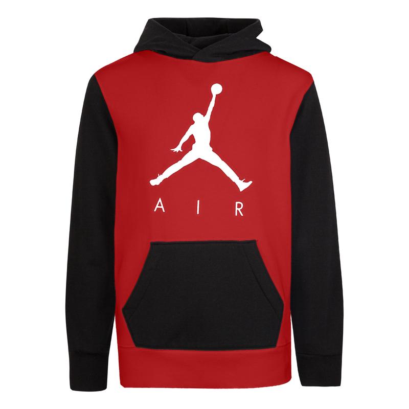 Air Jordan Air Jordan Kids Jumpman GFX Pullover 23 'Gym Red' 956048 R78