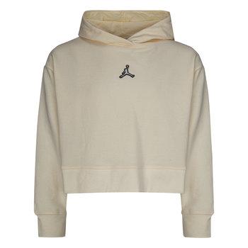 Air Jordan Air Jordan Kid's Jumpman Cropped Hoodie 'Pale Ivory' 45A858 W5T