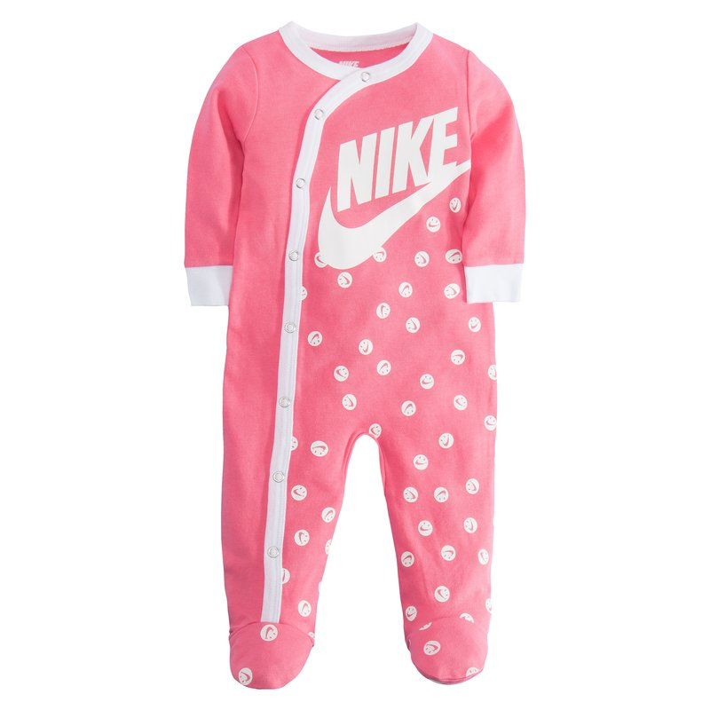 Nike Nike Kid's AOP Smiley Footed Coverall 'Pink Nebula' 56D679 A5K