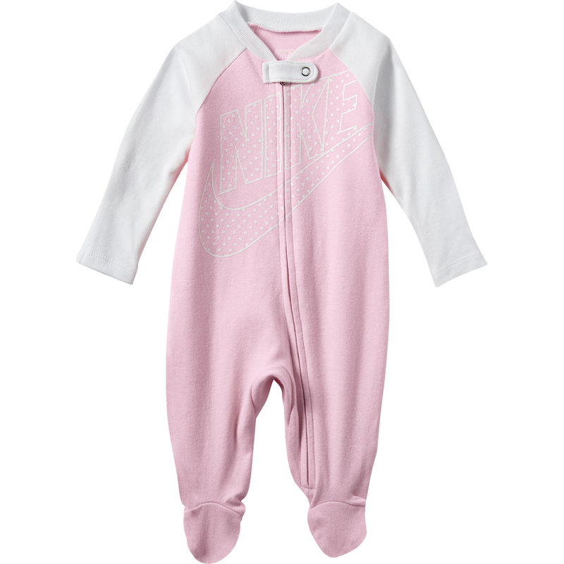 Nike Nike Kid's Footed Coverall 'Rasberry Sorbet' 06D690 A8F