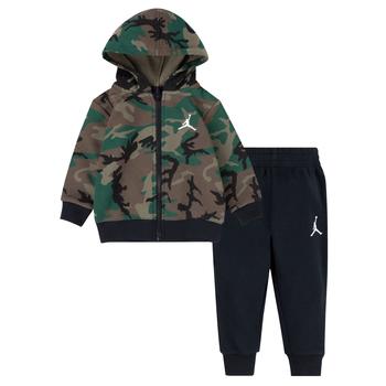 Air Jordan Air Jordan Kid's Fleece Full-Zip & Pant Set 'Camo' 85A833 E4F