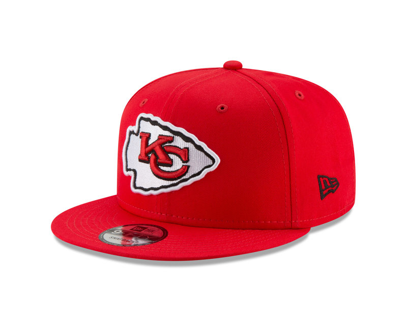 New Era New Era Kansas City Chiefs Basic 9FIFTY Snapback Red 11872990