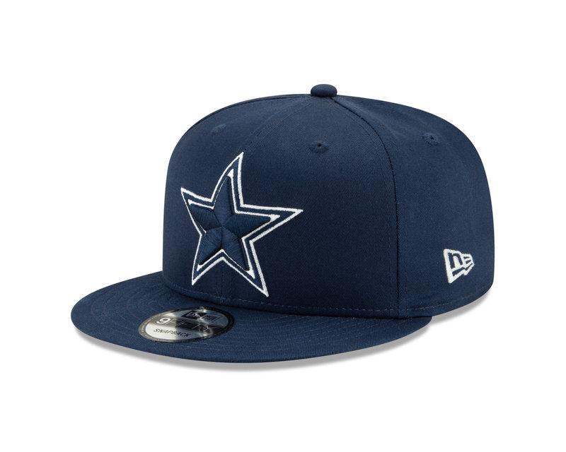 New Era New Era Dallas Cowboys Basic 9FIFTY Snapback Navy Blue 1229537