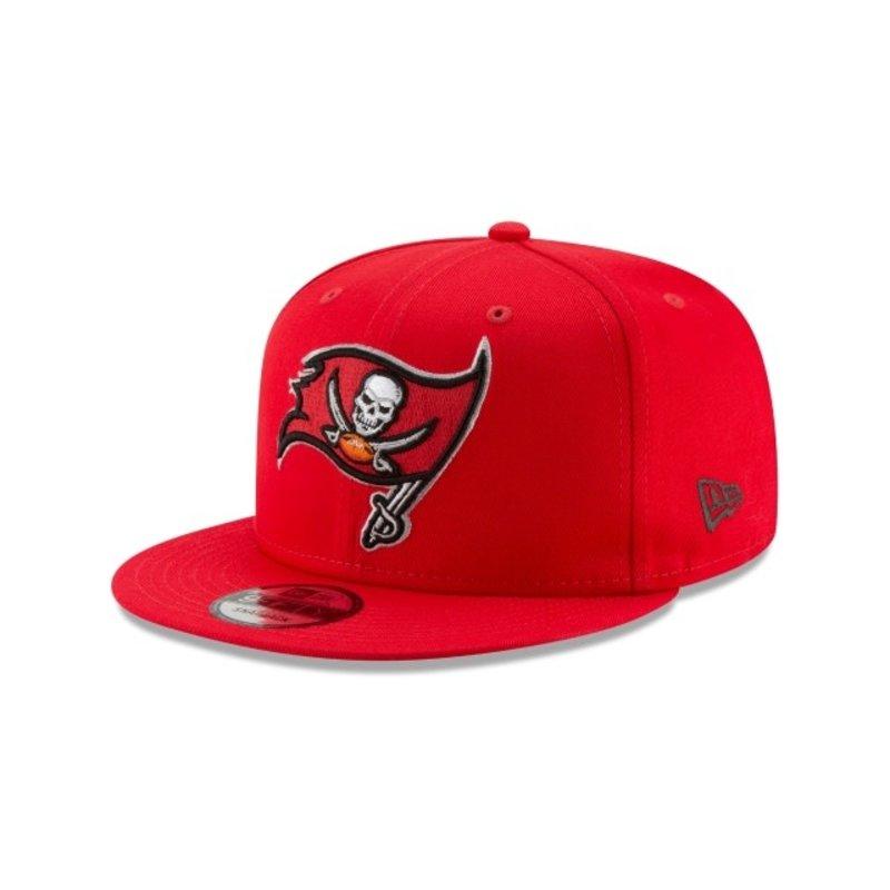 New Era New Era Tampa Bay Buccaneers Basic 9FIFTY Snapback Red 11872937