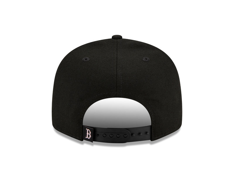 New Era New Era Boston Red Sox Pink Drip World Series Side Patch 9Fifty Snapback