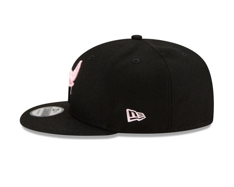 New Era New Era Chicago Bulls Pink Drip 6x Champions Side Patch 9Fifty Snapback