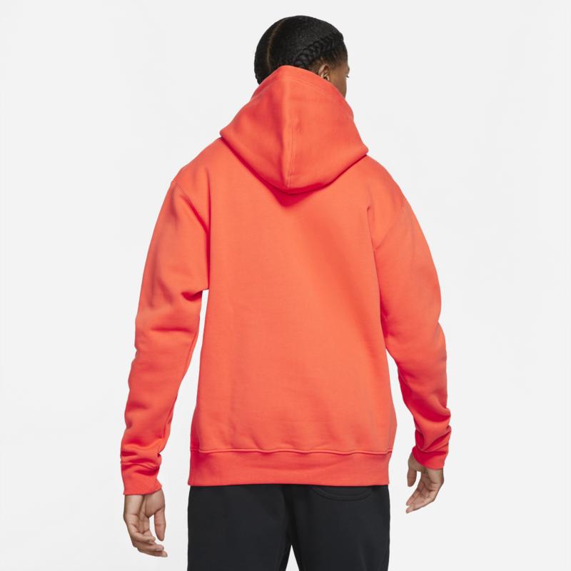 Air Jordan Air Jordan Essentials Men's Fleece Pullover Hoodie Orange DA9818 803