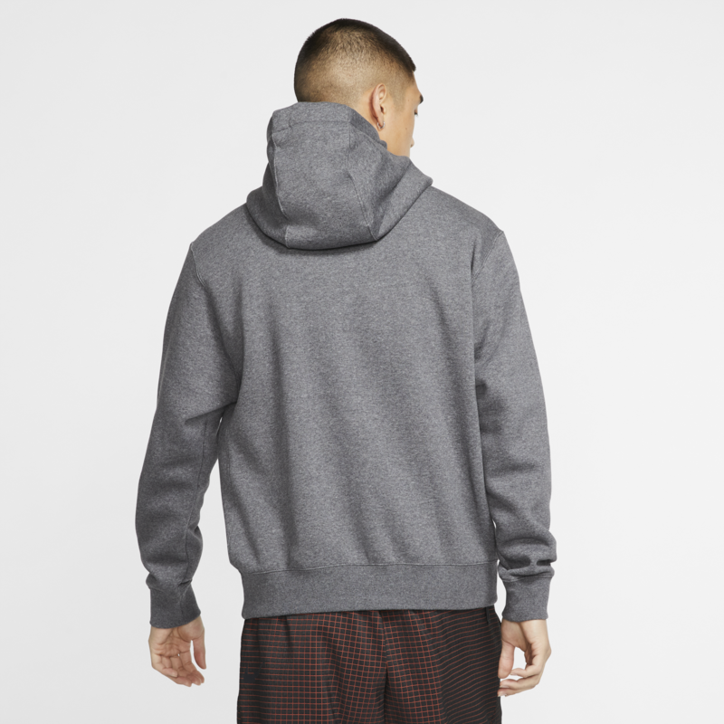 Nike Nike Sportswear Club Fleece Pullover Hoodie Dark Grey BV2654 071
