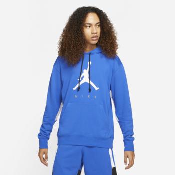 Air Jordan Air Jordan M J Jumpman Fleece Pullover HOODIE Blue DA7192 480