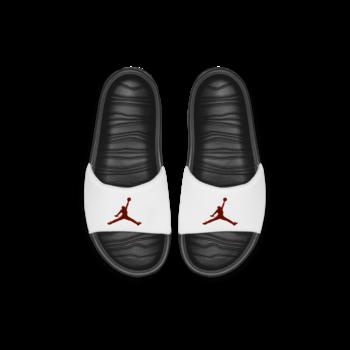 Air Jordan Jordan Break Slide Black/University Red-White  AR6374 016