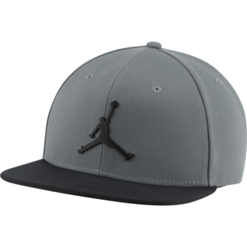 Air Jordan Air Jordan Pro Jumpman Snapback Hat 'Charcoal/Black' AR2118-086