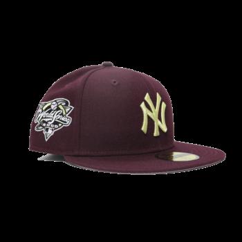 "New Era Yankees New Era ""Crosstown Opponents Pack"" New York Yankees 2000 World Series Patch Maroon"
