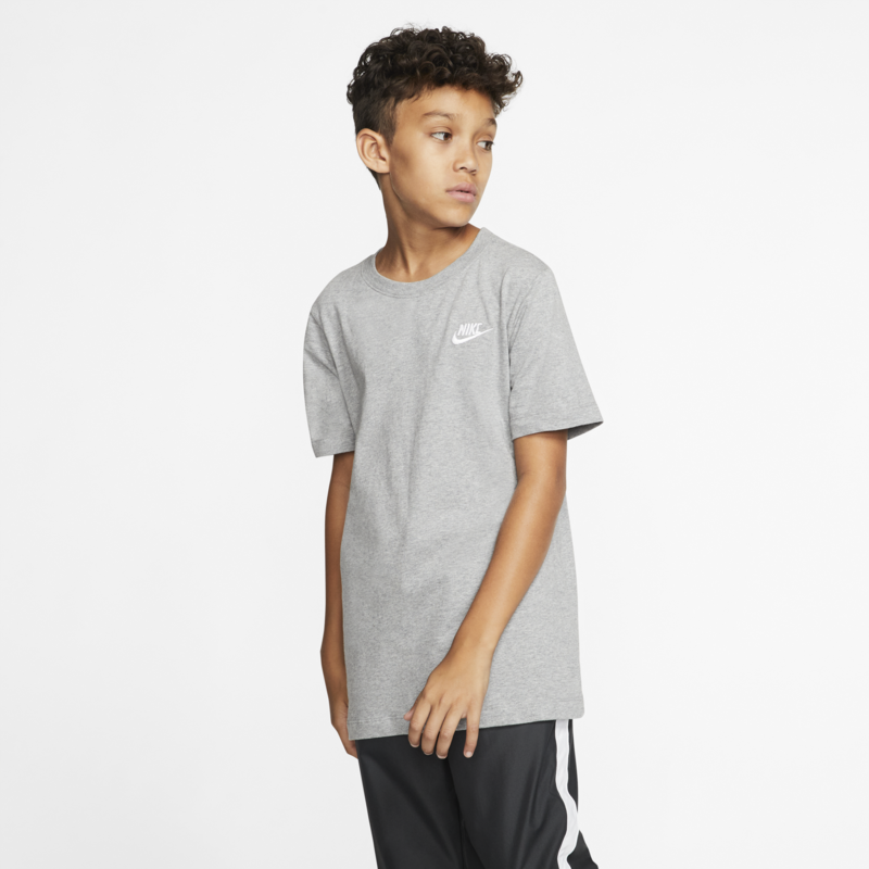 Nike Nike Sportswear Older Kids' T-Shirt Grey AR5254 063