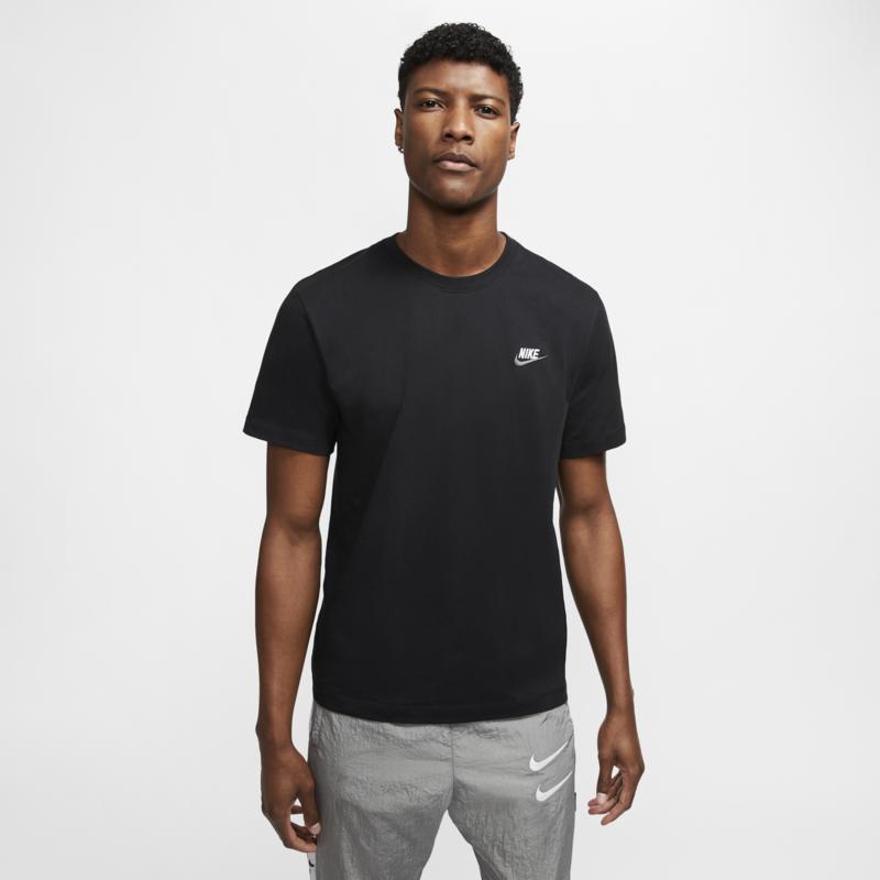 Nike Nike Sportswear Club Shirt BLACK/WHITE/GREY AR4997-014