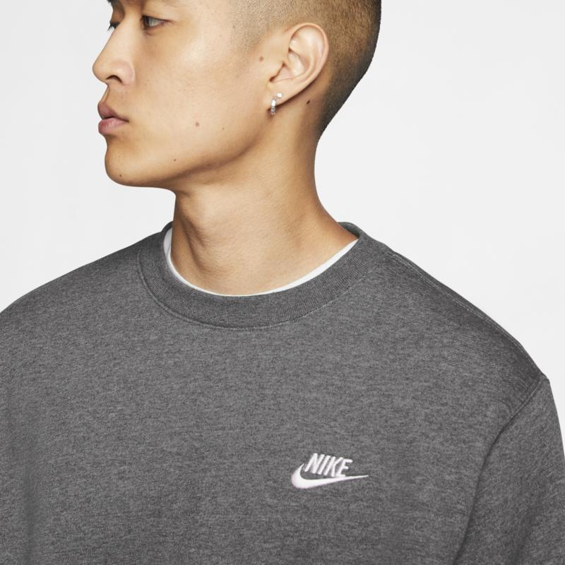 Nike Nike Men's Sportswear Club Fleece Crew 'Charcoal' BV2662 071