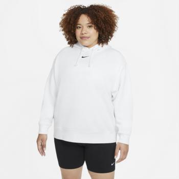 Nike Nike Sportswear Essential Collection Women's Oversized Fleece Hoodie 'White' DJ7668 100