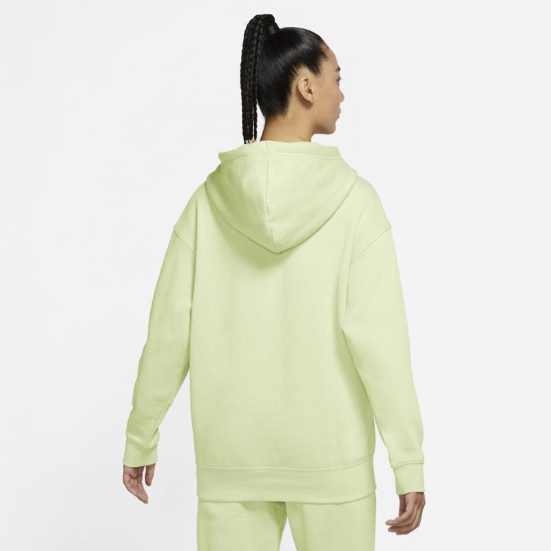 Nike Nike Sportswear Essential Collection Women's Oversized Fleece Hoodie 'Lime' DJ7668 303
