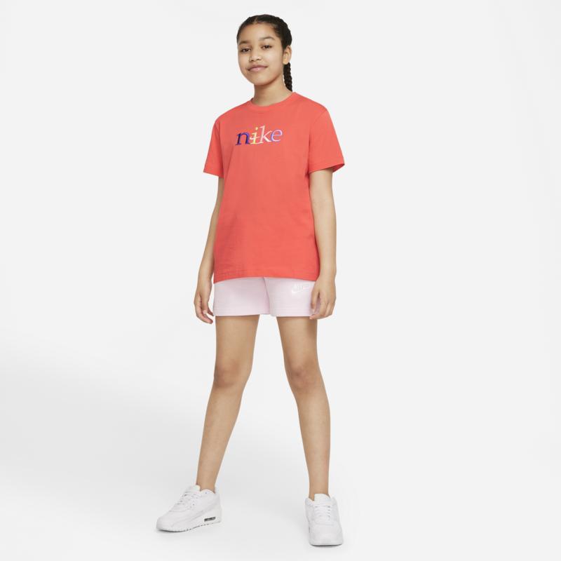 Nike Nike Kids Girl Top Color Logo Orange DJ6934-814