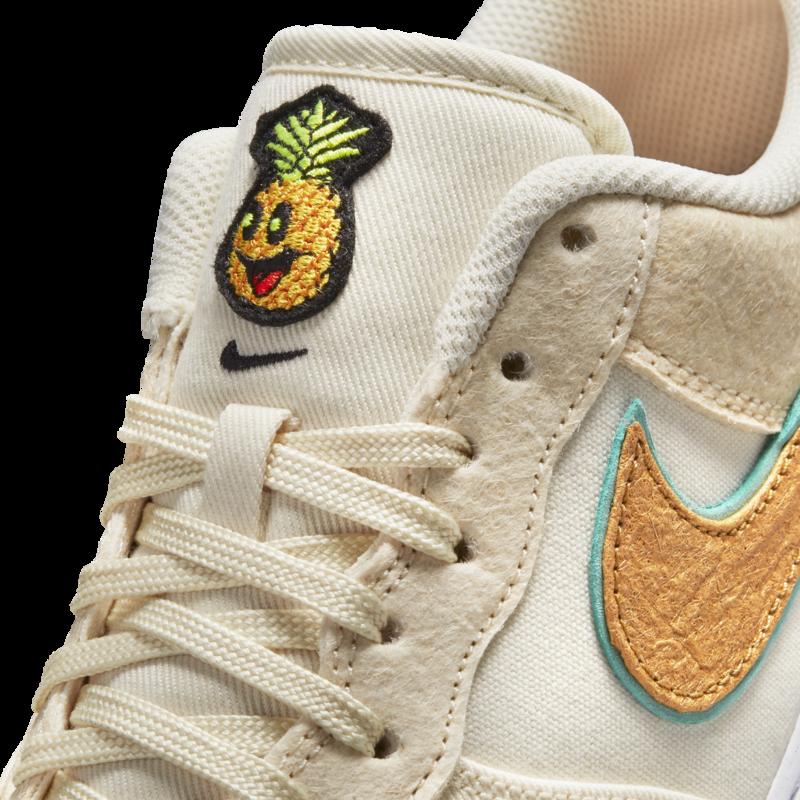 Nike Air Force 1 '07 PRM Happy Pineapple Coconut Milk  CZ1631-100