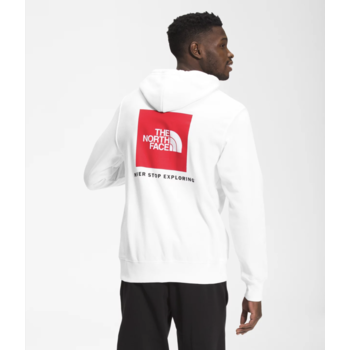 THE NORTH FACE The North Face Men's Box NSE Pullover Hoodie White/Red NF0A4761FN4