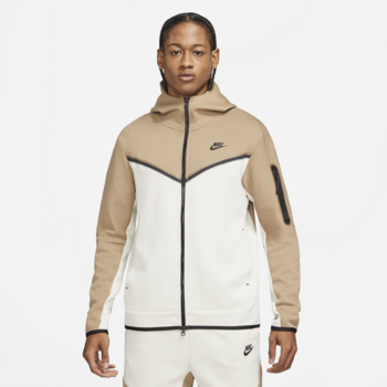 Nike Nike Men's Tech Fleece Jacket Sandalwood/Light Bone/Black CU4489-208