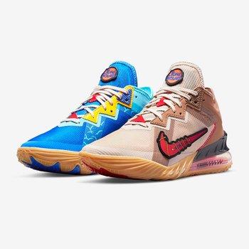 """Nike Nike Men's Lebron 18 Low """"Tune Squad"""" CV7562 401"""