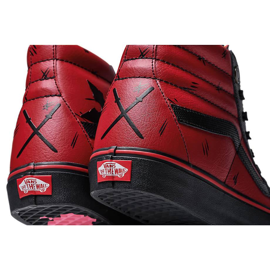 90cd547f0ef VANS Classic Slip On MARVEL Deadpool (VN0A38GEUBJ) - Sam Tabak