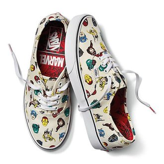 5e678d87a02 Vans VANS Authentic MARVEL Marvel Heads (VN0A38EMRNU)