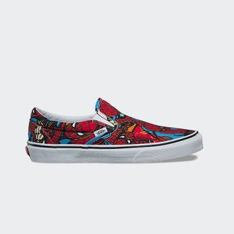 72293921027 Vans VANS Classic Slip On MARVEL Spider-Man (VN0A38F79H7)