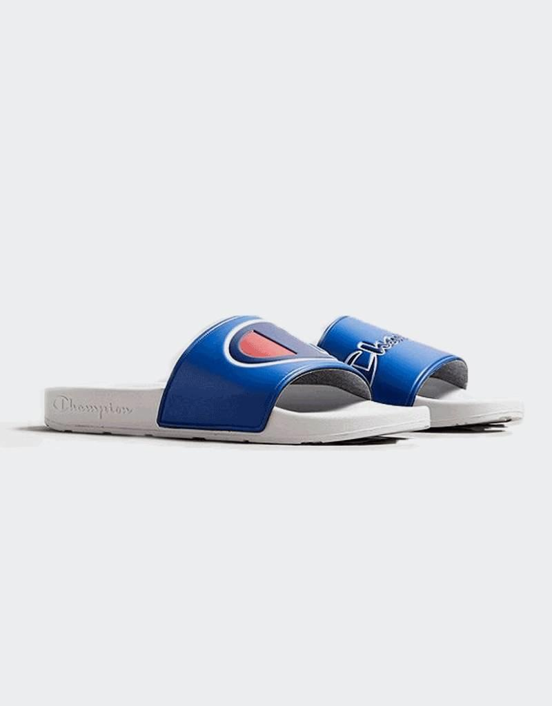 Champion Champion IPO Mismatch Slides White/Royal (CM100067M)