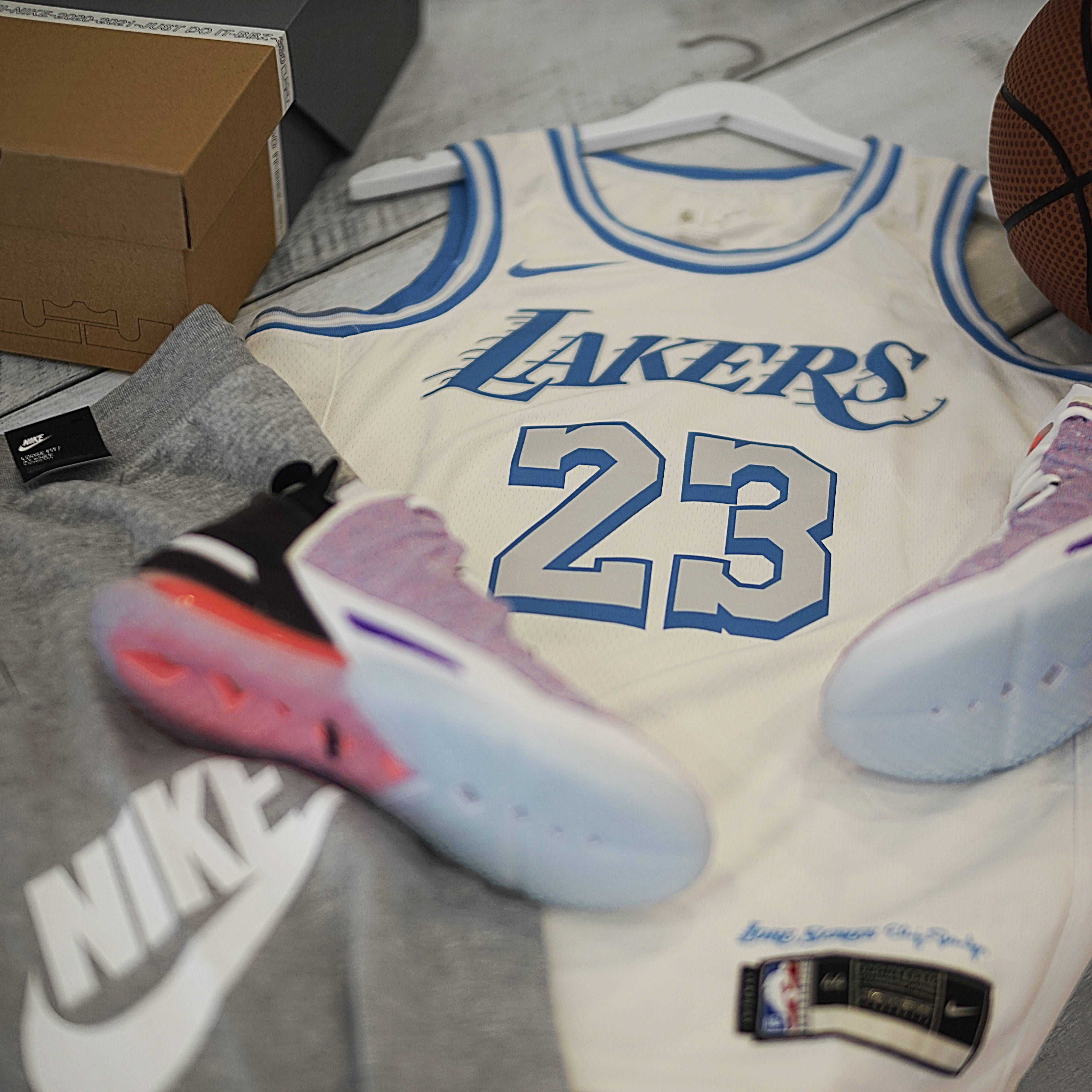 Lebron Swingman Jersey and Lebron XVIII<br>Available Now!