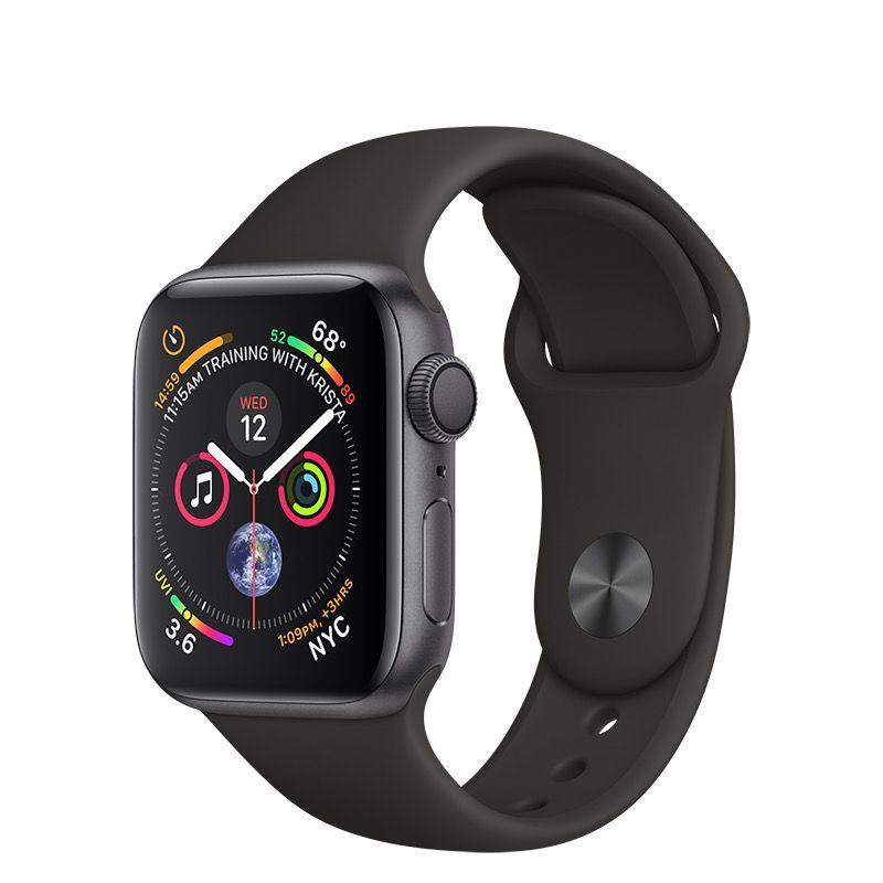 Apple Apple Watch Series 4 Gps 40mm Space Gray Aluminum