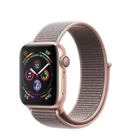 Apple Apple Watch Series 4 GPS, 40mm Gold Aluminum Case with Pink Sand Sport Loop