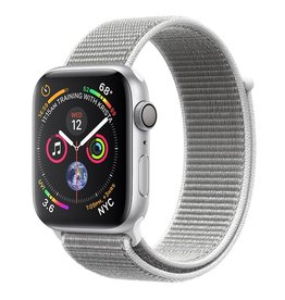 Apple Apple Watch Series 4 GPS, 44mm Silver Aluminum Case with Seashell Sport Loop