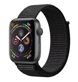 Apple Apple Watch Series 4 GPS, 44mm Space Gray Aluminum Case with Black Sport Loop