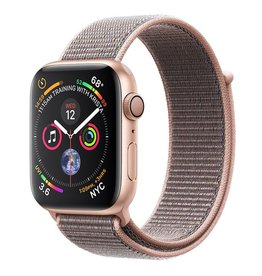 Apple Apple Watch Series 4 GPS, 44mm Gold Aluminum Case with Pink Sand Sport Loop