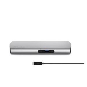 Belkin Notebook - 60 W - USB Type C - 5 x USB Ports - Network - HDMI - Audio Line In - Audio Line Out - Microphone - Docking