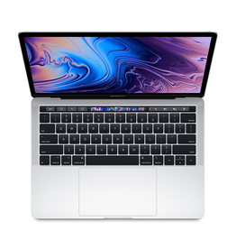 Apple 13-inch MacBook Pro with Touch Bar: 1.4GHz quad-core 8th-generation Intel Core i5 processor, 8GB 2133MHz LPDDR3 memory 128GB - Silver