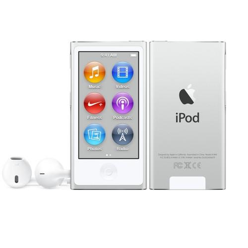 Apple iPod nano 16GB Silver - MKN22LL/A