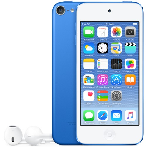 Apple iPod touch 64GB Blue - MKHE2LL/A