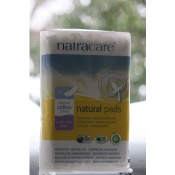 ApothEssence LifeStyle Enhancement- Bath, Body, Home & Health Natracare Pads, Night 10ct