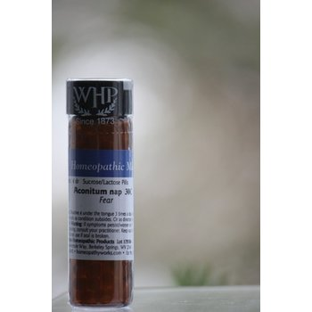 ApothEssence LifeStyle Enhancement- Bath, Body, Home & Health Aconitum Napellus 30C - Single Remedy Homeopathic Pellets