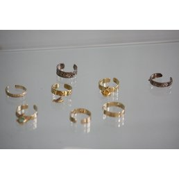Jewelry & Adornments Toe Rings, Gold