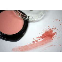 Cosmetics Pink Coral Dry Pressed Powder Blush (4), .14 oz