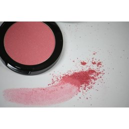 Cosmetics Pink Quartz Mineral Pressed Powder Blush, .12 oz