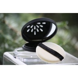 Cosmetics Refillable Powder Compact with Mirror