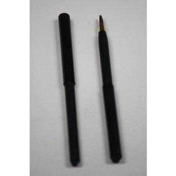 Cosmetics Retractable Lip Brush Black
