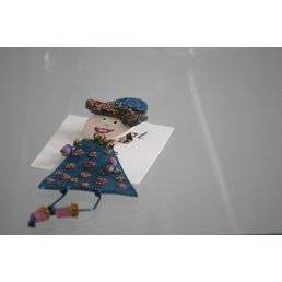 Jewelry & Adornments Pin, People Person