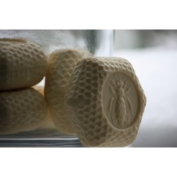 ApothEssence LifeStyle Enhancement- Bath, Body, Home & Health Apiana Royal Jelly Bee Soap, Lt. Yellow bar 3.5 oz.