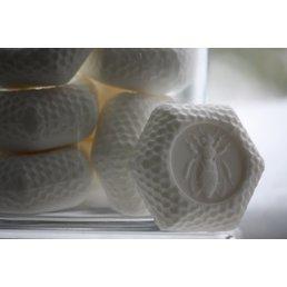 ApothEssence LifeStyle Enhancement- Bath, Body, Home & Health Apiana Goat's Milk Bee Soap, bar 3.5 oz.